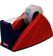 Tischabroller Easy Cut® 19 mm x 33 m (B x L) rot/blau