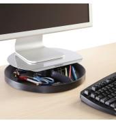 Monitorständer SpinStation 18kg höhenverstellbar silber/schwarz