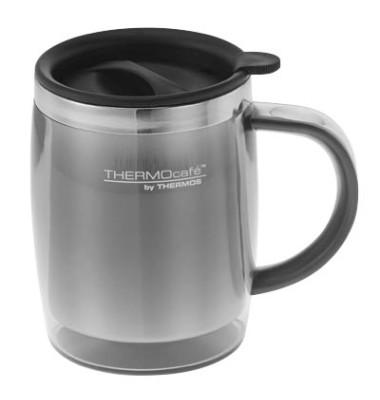 Thermobecher Desktop Mug 9 x 12 cm (Ø x H) schwarz