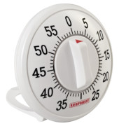 Eieruhr 8,5 x 3,5 cm (Ø x T) 60min ABS Kunststoff weiß