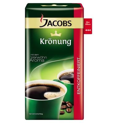 Kaffee Krönung Entkoffeiniert gemahlen 500 g/Pack.