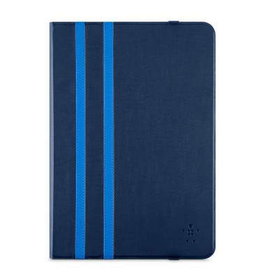 """Tablettasche iPad Air, -2, Galaxy Tab A (10""""), -S2 (10"""") 18,2 x 25,4 x 2 cm (B x H x T) Polycarbonat/Silikon blau"""