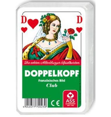 Spielkarten Doppelkopf (französisches Bild)
