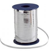 Geschenkband Ringelband 5mm x 400m metallic-silber