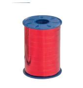Geschenkband Ringelband 10mm x 250m metallic-rot