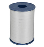 Geschenkband Ringelband 10mm x 250m metallic-silber