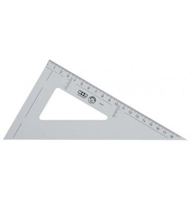 Winkel Spitz 60° 20cm rauchgr