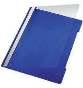 Sichthefter Premium PVC-Folie blau A4 25 St
