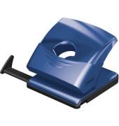 Locher mit Kunstst.-Schiene blau 25 Blatt 80mm