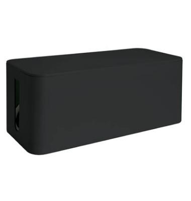 Kabelbox 135 x 126 x 318 mm (B x H x T) Kunststoff schwarz