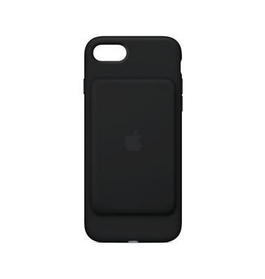 Schutzhülle iPhone 7 mit Akku schwarz Silikon