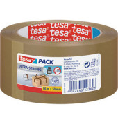 Packband Tesapack Ultra Strong 57177-00000, 50mm x 66m, PVC, braun