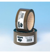 Packband 57212-00000, 50mm x 66m, PP, leise abrollbar, braun