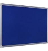 Maya Filztafel m. Alu Rahmen blau 180x120cm