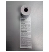Thermorolle A05046_rol, 57mm x 25m, Kern-Ø 12,3mm, SEPA-Lastschrifttext, 1 Rolle