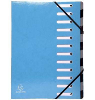 Ordnungsmappe Iderama hellblau A4