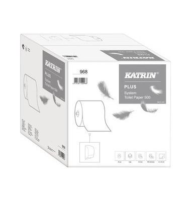 Toilettenpapier System-Toilet Plus 968 3-lagig 36 Rollen