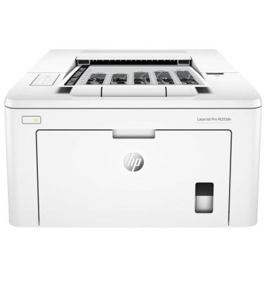 Schwarz-Weiß-Laserdrucker LaserJet Pro M203dn bis A4