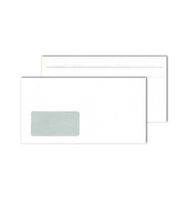 Fenster-Briefumschlag SK 75g weiss C6/5 1000 St