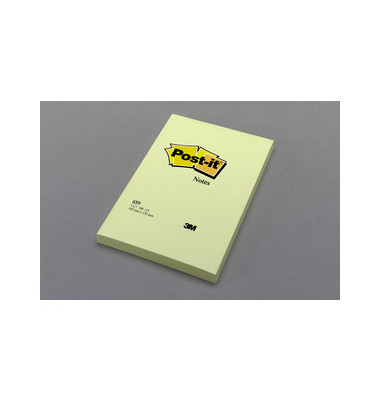Haftnotizblock blanko 100 Bl. gelb 102 x 152mm 6 St