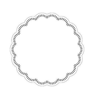 Untersetzer für Gläser 9cm weiß 250 St