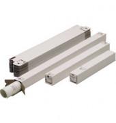 Versandhülse 130 weiß 75x75x750mm für A1 mit Steckverschluss 20 Stück