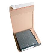 Versandschachtel für 1 Ordner 320x290x35-80 mm braun 20 Stück