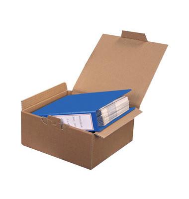 Versandkarton für 2 Ordner 323x290x140 mm braun 20 Stück