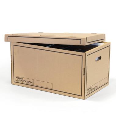 Wellpappe wei/ß 8 x 26 x 32 cm A4 Klappdeckel Pressel Archivbox
