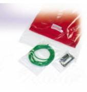 Druckbandbeutel, Polyethylen, 160 x 220 mm, farblos, transparent