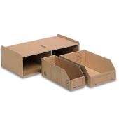 Aufbewahrungsbox Kleinteilemagazin, Kleinteileb.14x2x28/14x1x28cm