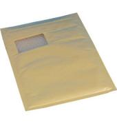 Luftpolstertasche Fel mit Fenster innen: 180x265mm Gr.4 braun aroFOL win 100 Stück