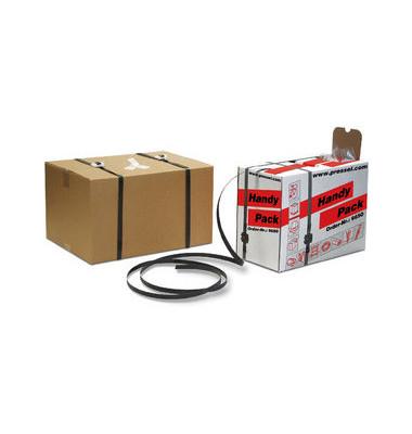 Umreifungsband Handy-Pack, PP, 12 mm x 600 m, 1.300 N, schwarz