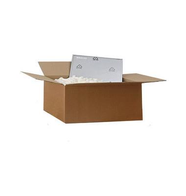Kartons 350x250x150 1-wellig braun Versandkarton Faltkarton Versandschachtel