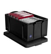 Aufbewahrungsbox 64BK schwarz 64 Liter 440 x 310 x 710mm
