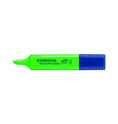 Textmarker Textsurfer classic grün 1-5mm Keilspitze 10 Stück