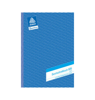 Formular Durchschreibbuch lin. weiß A4 2x50 Bl 5 St