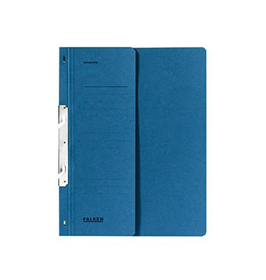 Einhakhefter A4 blau halber Vorderdeckel Amtsheftung
