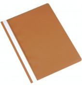 Schnellhefter A4 braun PP Kunststoff kaufmännische Heftung bis 250 Blatt