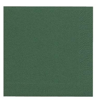 104050/ 3lagig.  40 cm Serviette Zelltuch orien.grün