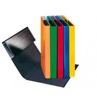 Sammelmappe Basic 21106-00, A5 Kunststoff, für ca. 300 Blatt, farbig sortiert