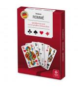 Spielkarten Rommé Senioren extra Groß französisches Blatt Stülpschachtel