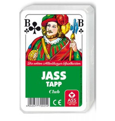 Spielkarten Jass & Tapp französisches Blatt Kunststoffetui