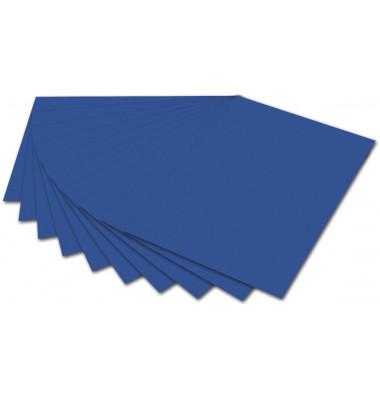 6135 E 300g Fotokarton 50x70cm königsblau