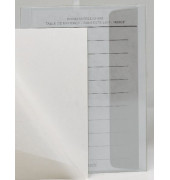 83005  25x34cm Dokumentenhülle transparent