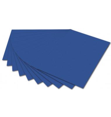 6435 130g Tonpapier A4 königsblau