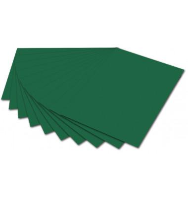 6458 130g Tonpapier A4 tannengrün