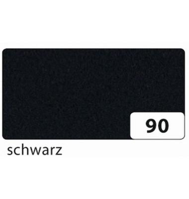 520490 20x30cm Bastelfilz schwarz