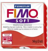8020-24 Soft 56g Modelliermasse Fimo indischrot