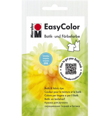 1735 22 098/25g Easy C. Batik-und Färbefarbe türkisbla